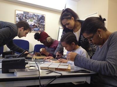 Solar panel making workshop